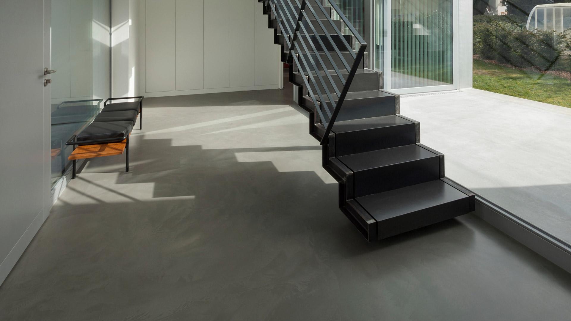 Pavimenti In Cemento Resina : Errelab crea in resina rivestimenti per pavimenti e pareti